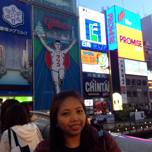 The  iconic Glico Running Man.